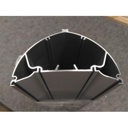 Профиль алюминиевый анодированный АЛ-0882-07