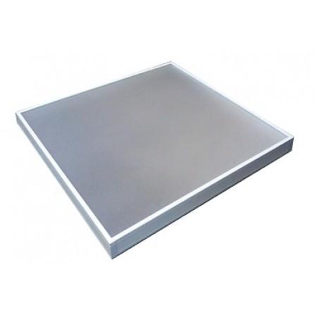 Комплект для сборки корпуса светильника армстронг: пластиковые боковины, основание, рассеиватель и коробка на 4 шт.