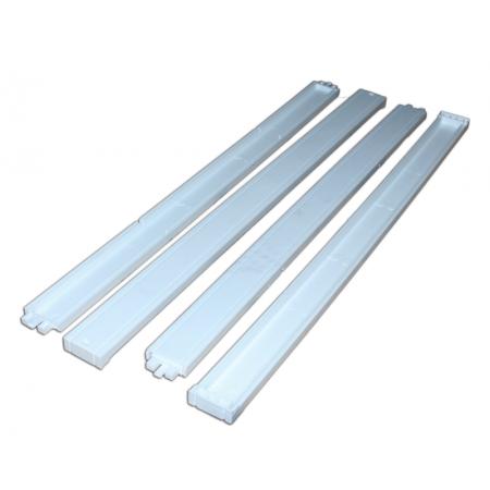 К-т боковин для светильника 595*595*40 мм., пластик