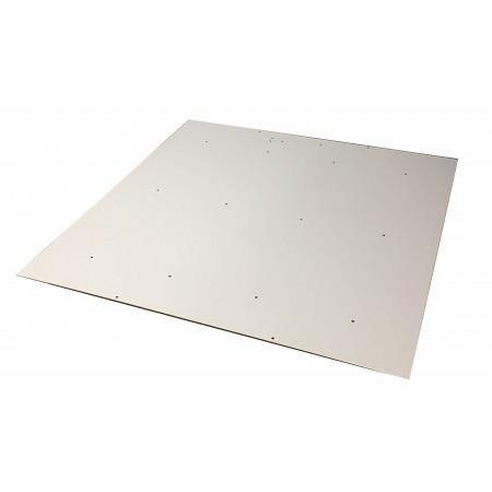Основание светильника 591*591*0,5 мм., метал.полимер